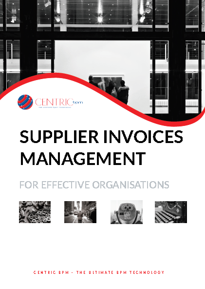 Supplier Invoices Management Brochure